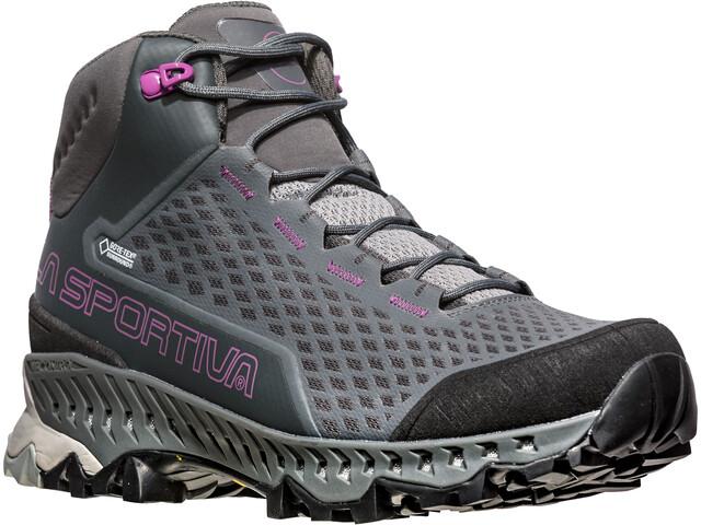 La Sportiva Stream GTX Shoes Women carbon/purple